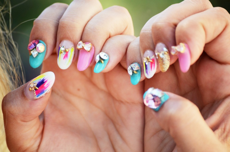 Spectacular 3D Nail Art ideas – Glamroz