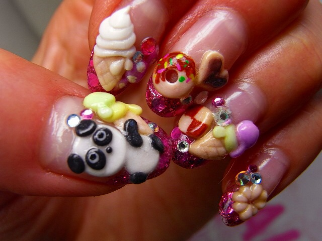 Spectacular 3d nail art ideas glamroz image prinsesfo Images