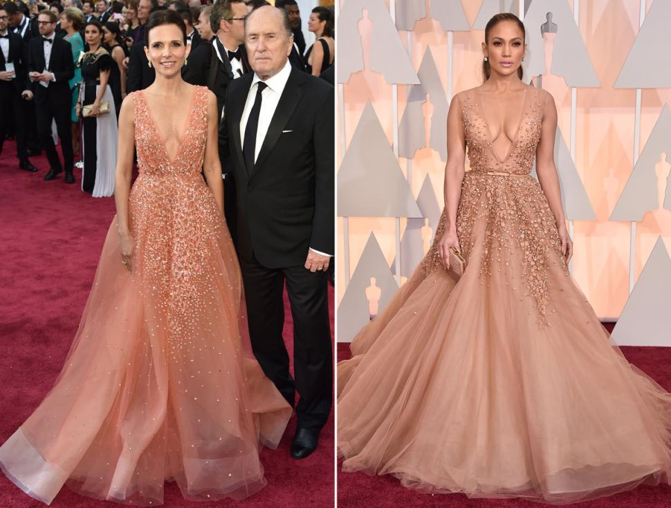 JLO versus Luciana Pedraza: Identical dress, 2 different Lebanese ...
